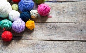 finger knitting, lavori a maglia