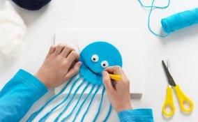 creazioni con filo lana
