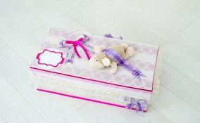 scatola ricordi neonato fai da te, scatola ricordi neonato