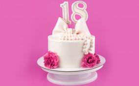 torte 18 anni, pasta di zucchero 18 anni