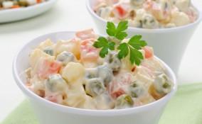 insalata russa leggera, ricetta, senza maionese
