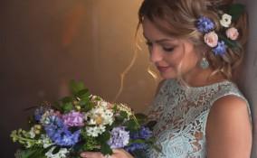 matrimonio stile provenzale, bouquet, sposa