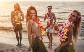 giochi festa hawaiana