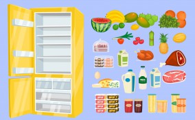 sistemare alimenti in frigo, conservare alimenti in frigo