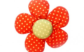 fiori stoffa imbottiti fai da te