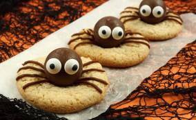 biscotti, halloween, ragno
