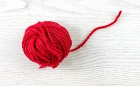 scritte decorative lana