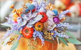 decorare zucche secche, decorare zucche ornamentali