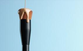fondotinta, pennello, uso