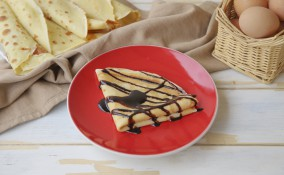 Crepes dolci farcite