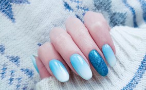 ombre nail art, decorare unghie, video tutorial