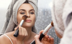 trucco, naso aquilino, make-up correttivo