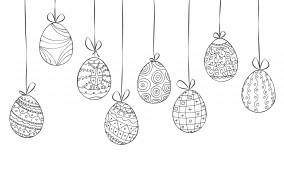 albero di pasqua, decorazioni fai da te albero di pasqua, disegni pasqua