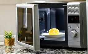 forno a microonde, pulizia, rimedi