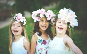 Bambine a nozze