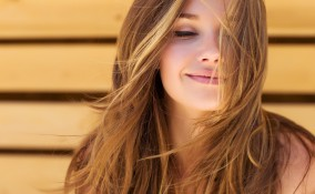 capelli, estate, schiarire