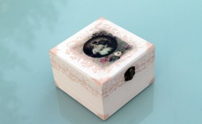 scatole-vintage-fai-da-te-idee-decoupage- scatole vintage fai da te, idee decoupage, scatola decoupage