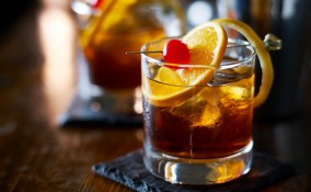 old fashioned cocktail, ricetta, bourbon