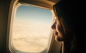 Donna in volo