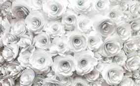 matrimonio flower wall