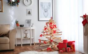 albero di Natale, legno, come farlo