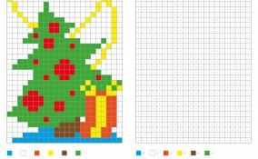 coding natalizio bambini, coding natale bambini, pixel art natale, coding natalizio