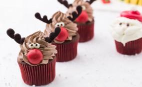 cupcake natale panna, cupcake natalizi panna, cupcake natale decorati