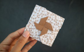 matrimonio busta origami