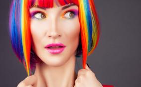 makeup arcobaleno carnevale