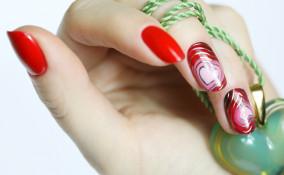 san valentino 2020, nail art, decorazione unghie