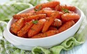 carote al burro, padella, contorno