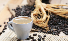 caffè, ginseng, salute