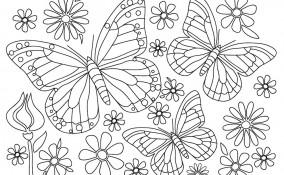 disegni primavera bambini