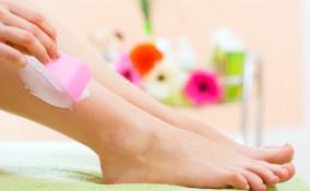 depilazione, crema, gambe