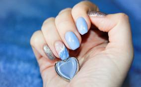 nail art, onde, idee manicure