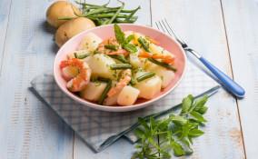insalata, patate, calorie