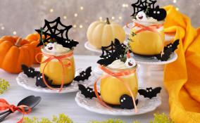 dolci al cucchiaio halloween, dolci halloween