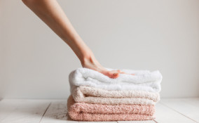 ammorbidire asciugamani induriti