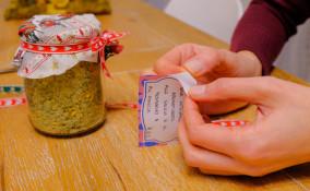 etichette barattoli fai da te, come fare etichette barattoli