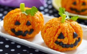 halloween, rice krispies, come si modella