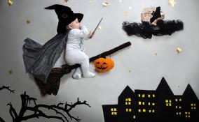 halloween neonato fai da te, costume halloween neonato, vestito halloween neonato