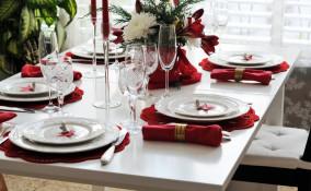 apparecchiare la tavola, Capodanno, mise en place