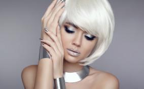 trucco sparkling, sera, make-up scintillante