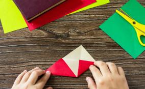 segnalibro tecnica origami