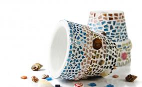 vasi terracotta mosaico
