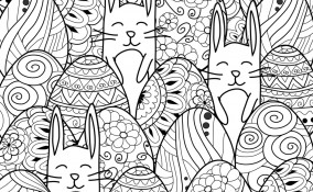 disegni pasqua colorare