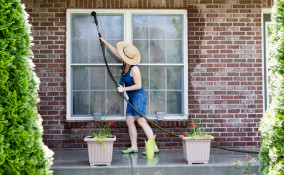 pulizie primavera esterni casa, pulizie privare