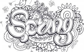 Disegni a tema primavera da colorare