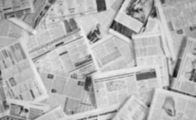 addobbi giornale fai da te