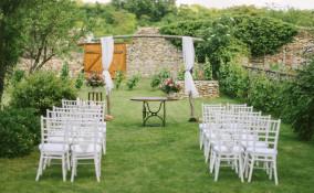 decorazione matrimonio pendente